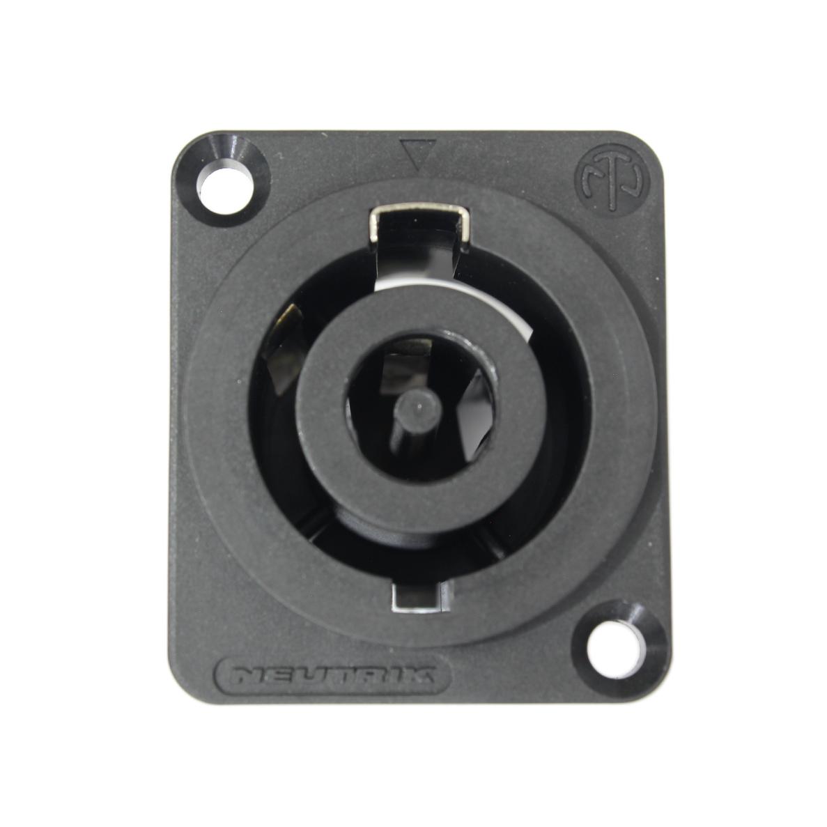 Conector Powercon 32A de painel NAC3MP-HC - NEUTRIK