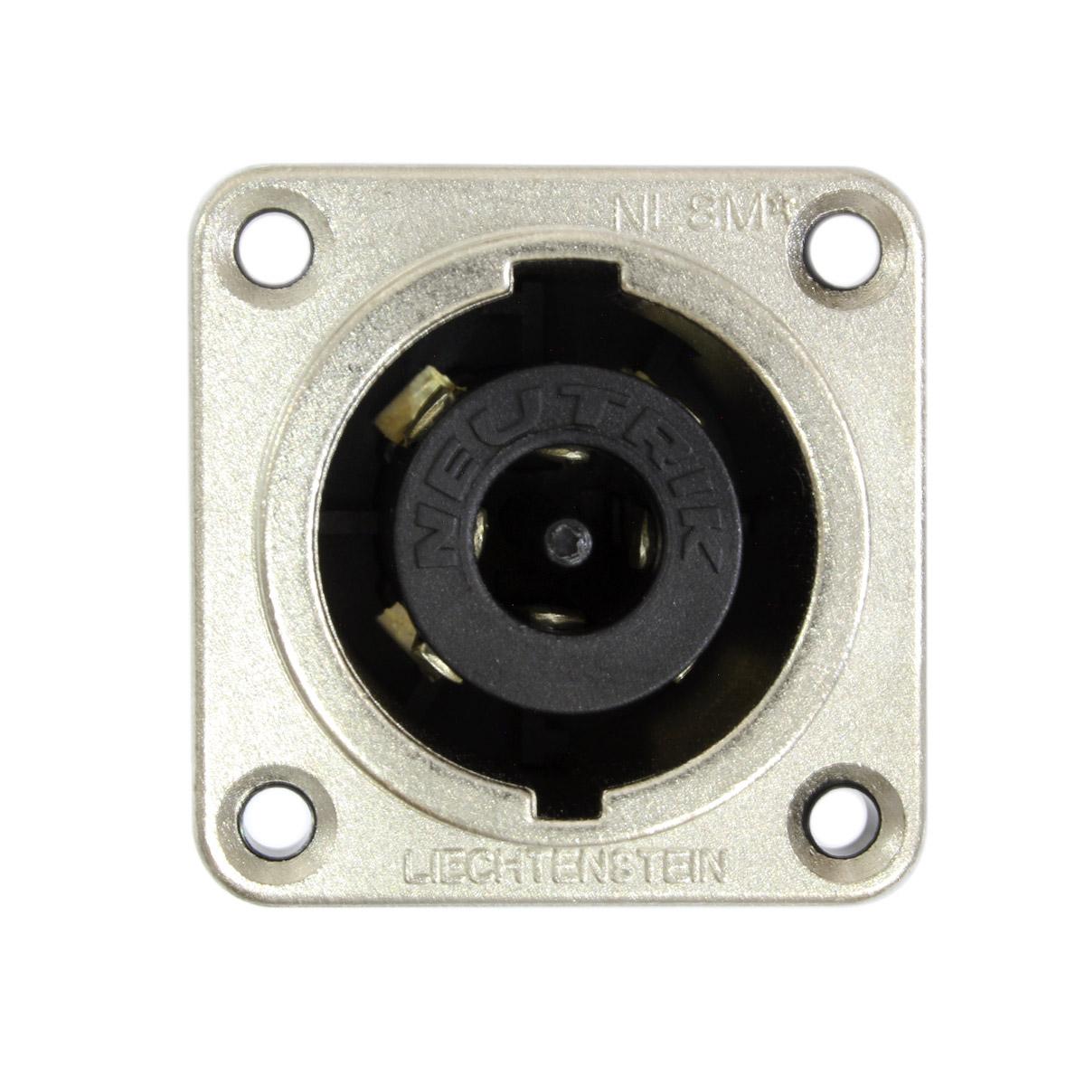 Conector speakon painel 8 polos NL8MPR Neutrik