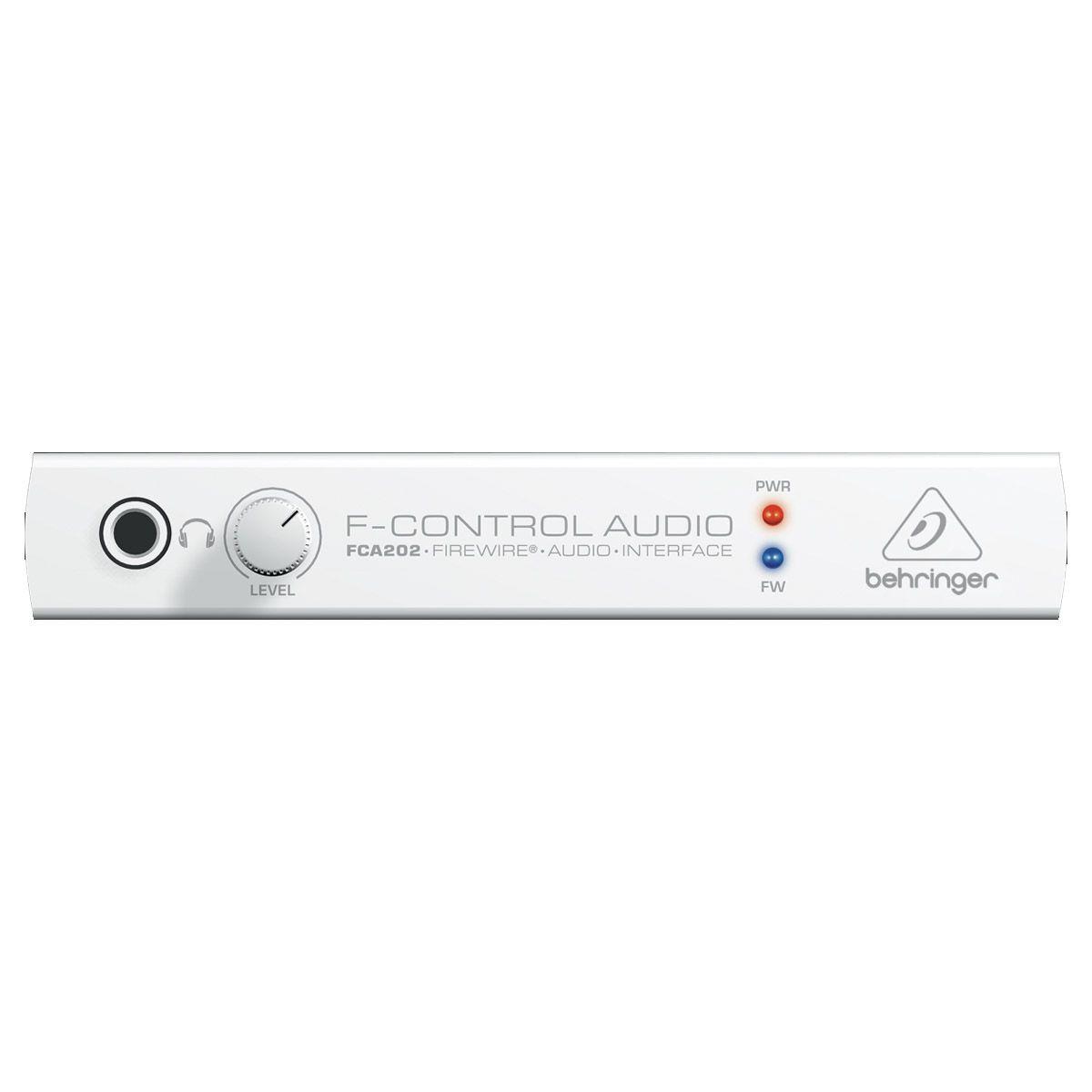 Conversor de audio 2X2 FireWire 4 pinos Behringer FCA202
