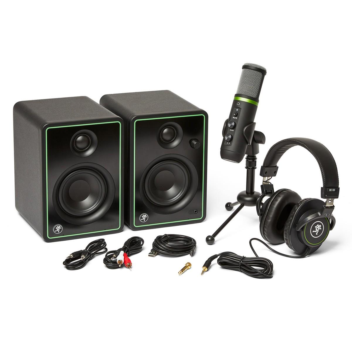 CREATOR-BUNDLE - MACKIE - KIT COM CR3X, EM-USB E MC100