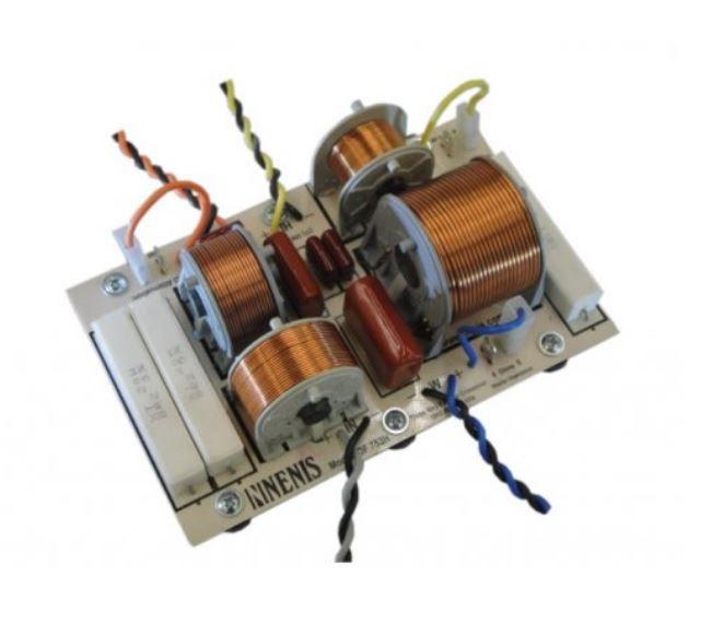 Divisor de Frequência 3 vias Passivo | 1 ou 2 Alto-falantes de grave, 1 Driver fenólico e 1 Tweeter de até 750W RMS  | DF753H | Nenis