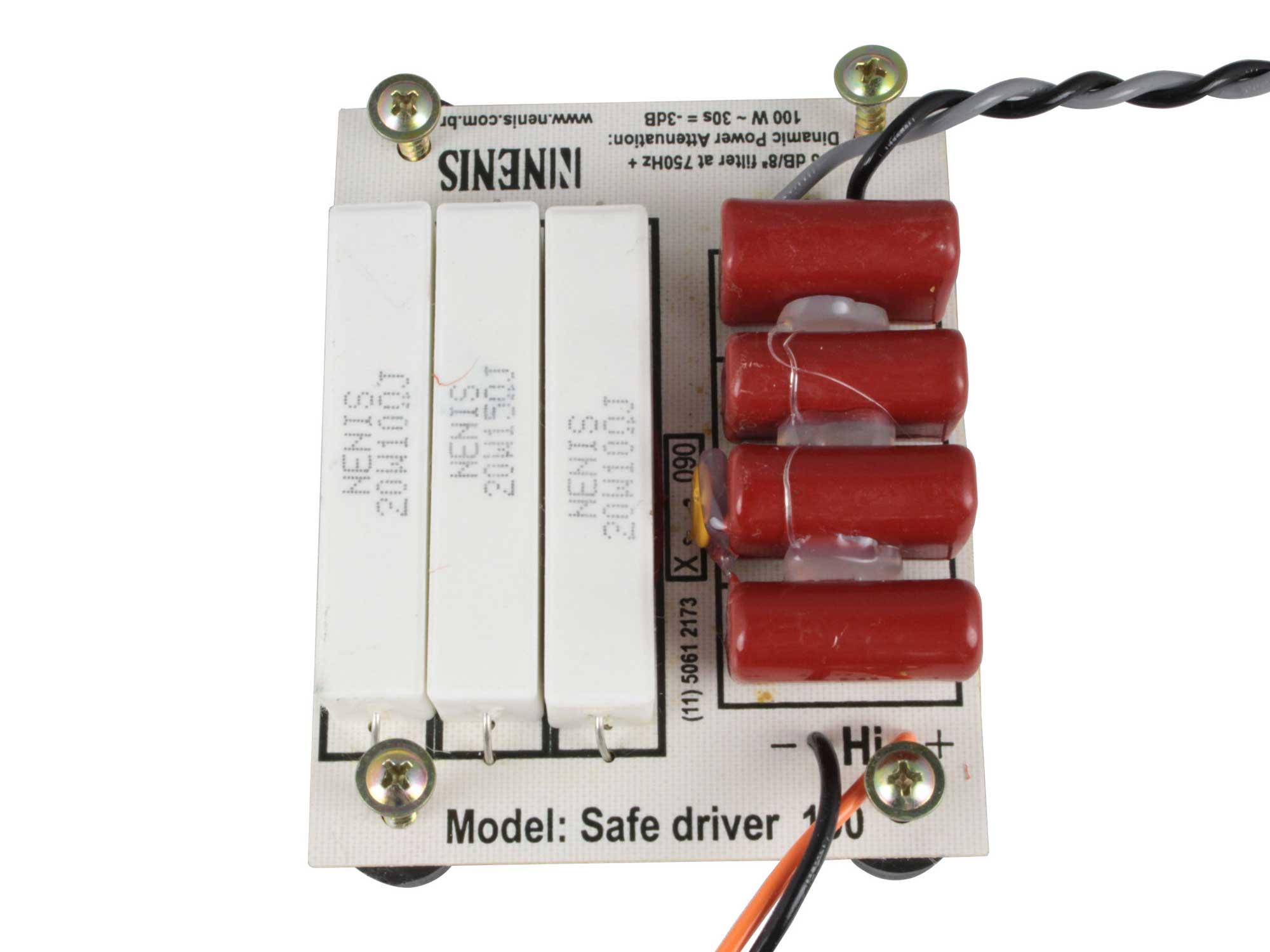 Divisor Protetor 1 via | Driver de até 100W RMS | SAFE DRIVER 100 | Nenis