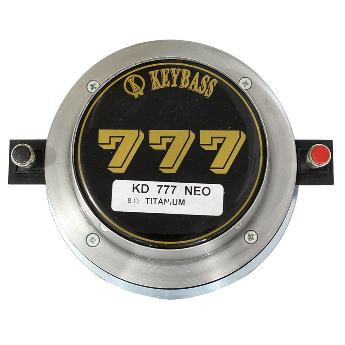 Driver Mid High Titanio 85w Rms 8 Ohms | Keybass | KD777NEO