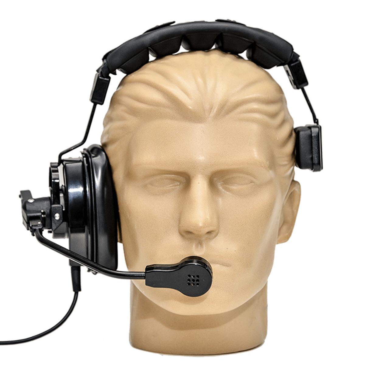 Fone Headset para sistema intercom MGA Pro Audio HS2