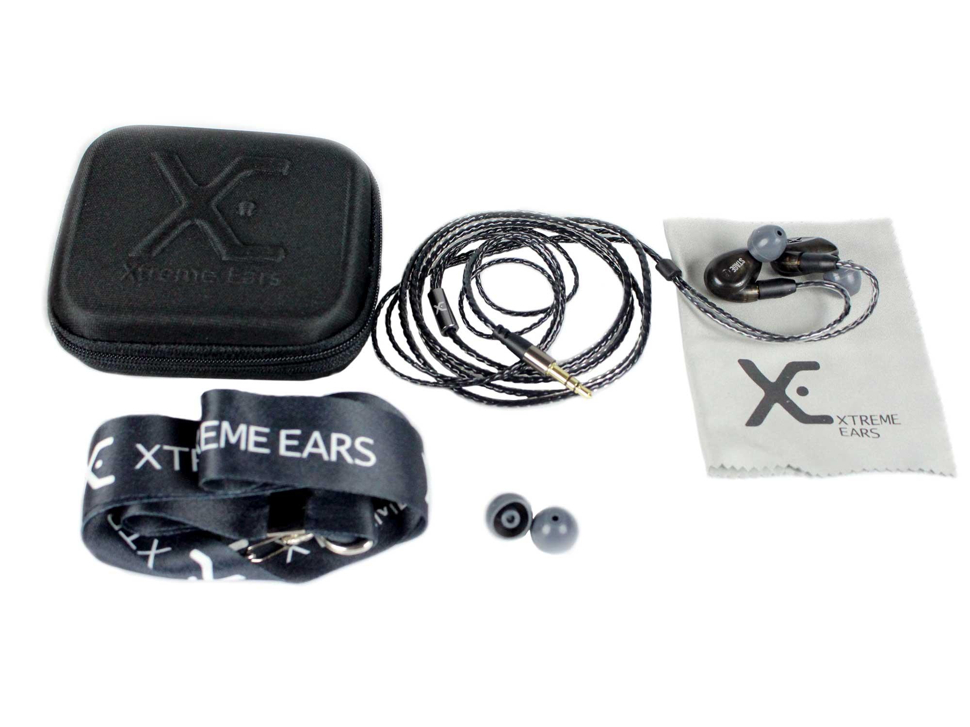 Fone In-Ear Preto Translúcido 117dB XTREME EARS STAGE