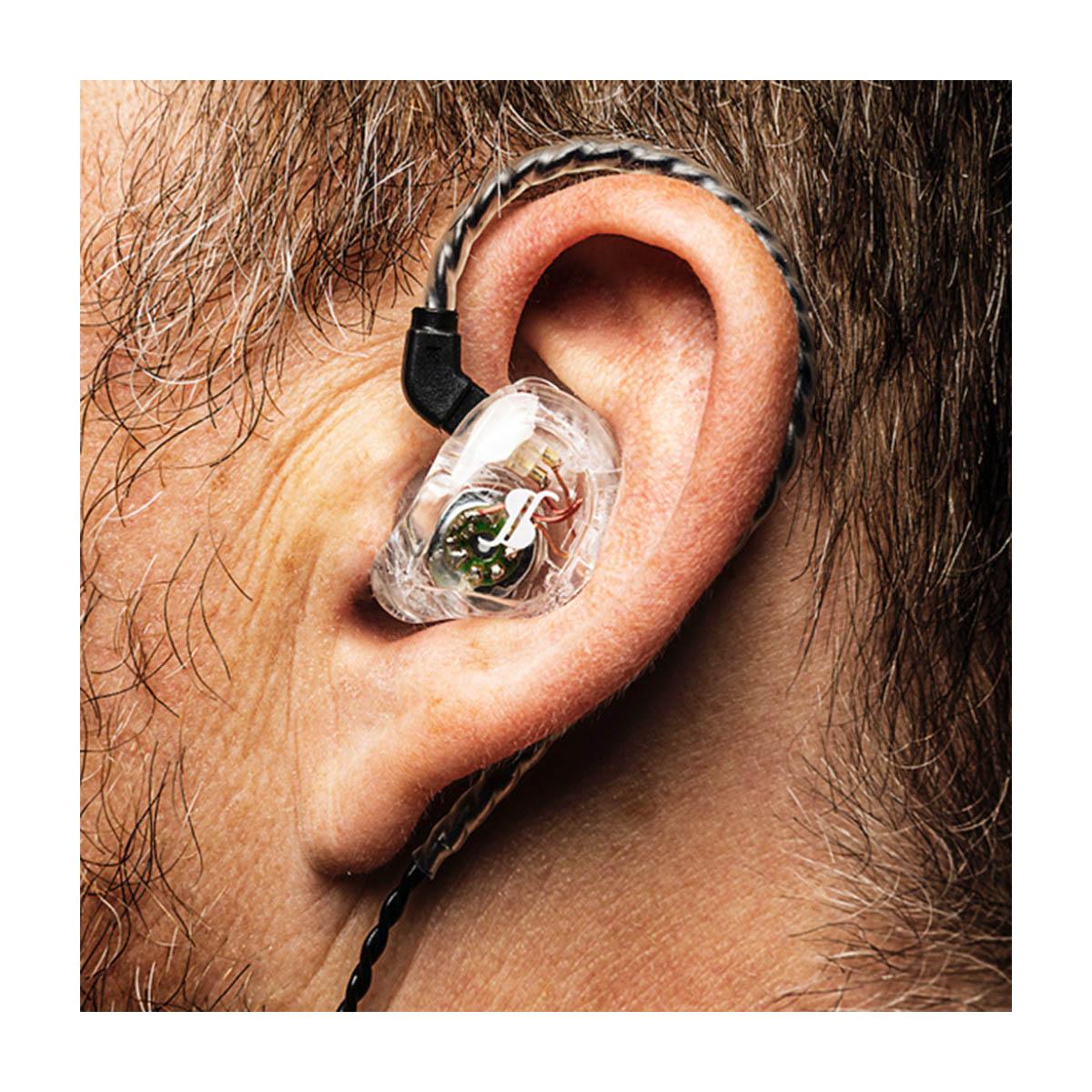 Fone In-Ear Transparente 2 Microdriver 108 dB  STAGG SPM-235