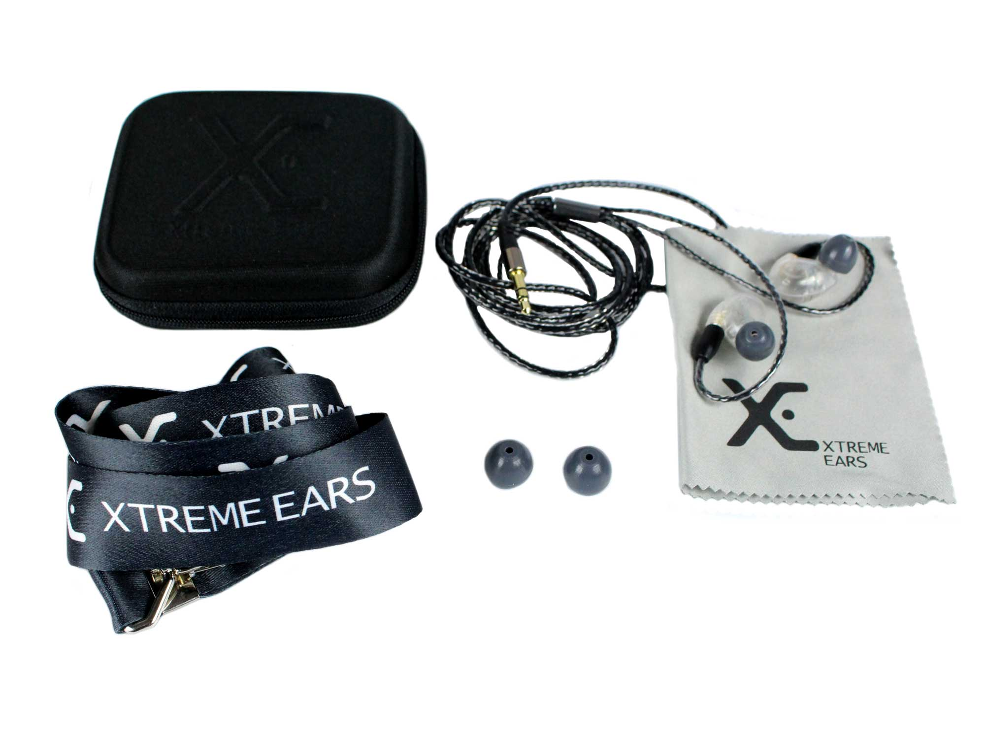 Fone In-Ear Transparente 117dB XTREME EARS STAGE