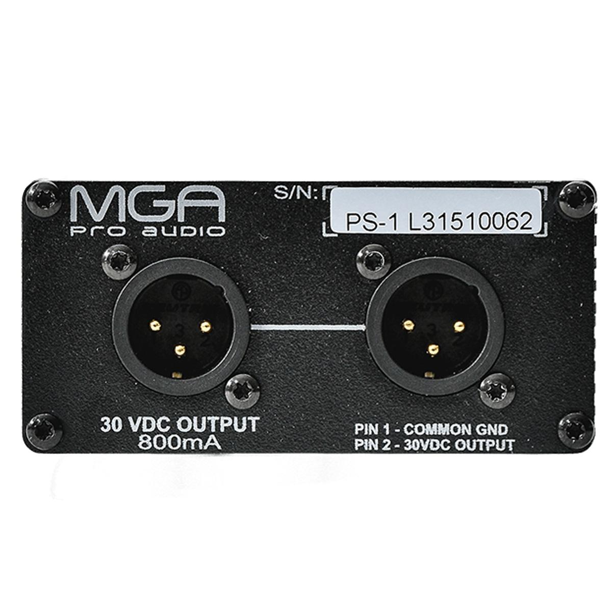 Fonte bivolt para sistema Intercom MGA Pro Audio PS1
