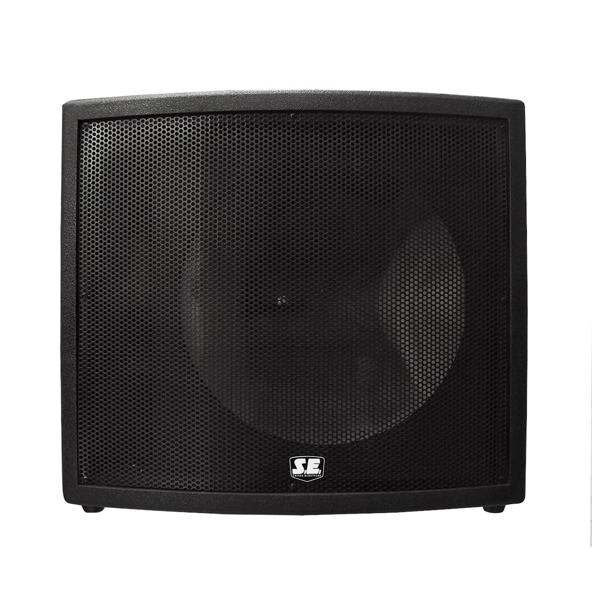 Gabinete Sub para 1 alto-falante de 18 polegadas LCW118