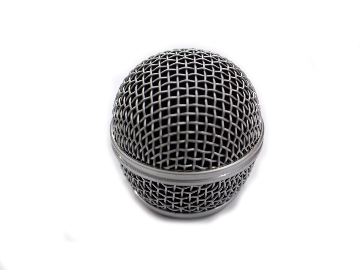 Globo alumínio para microfone MS-420-VHF TSI GB-MS420