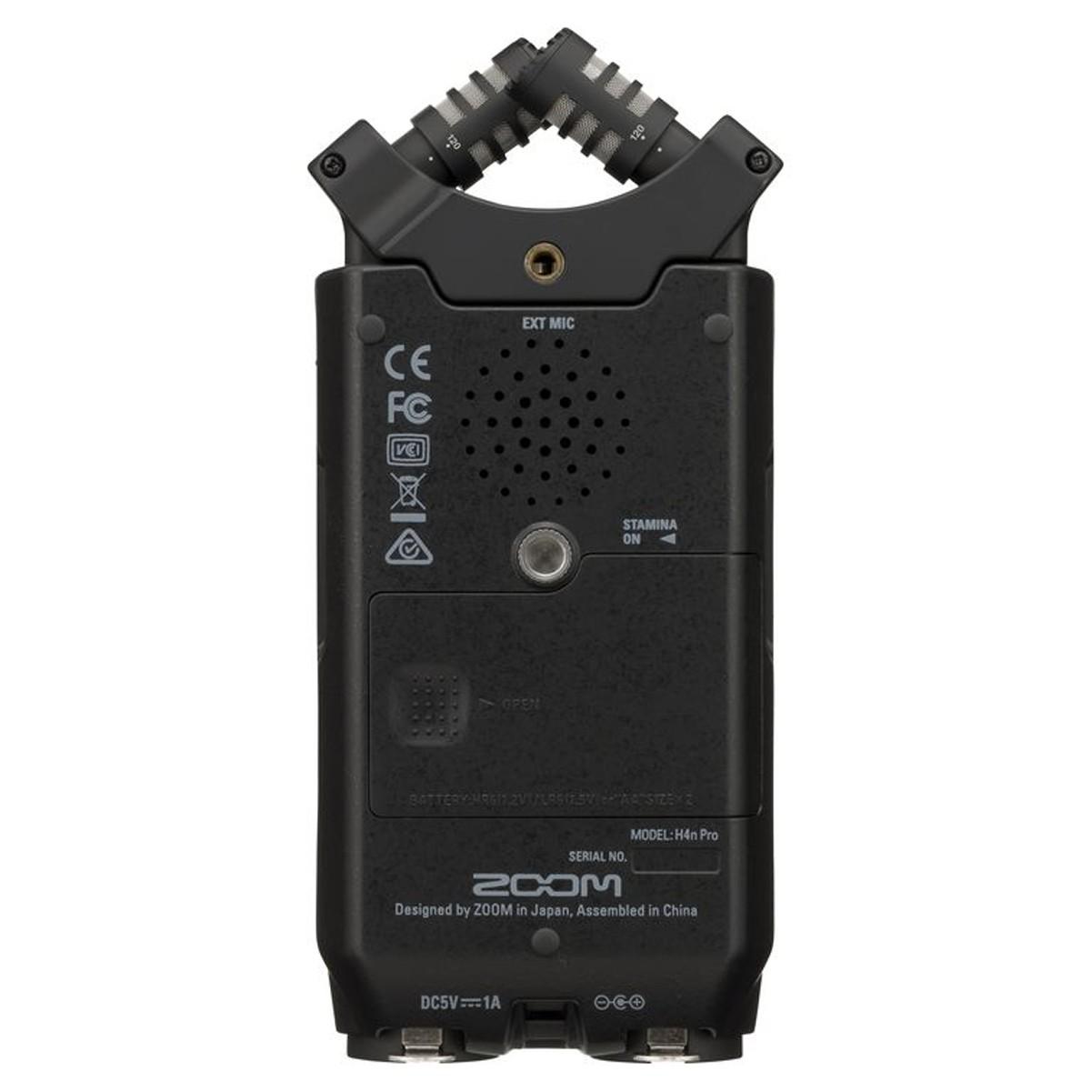 Gravador digital 4 canais Microfone X/Y Zoom H4n Pro