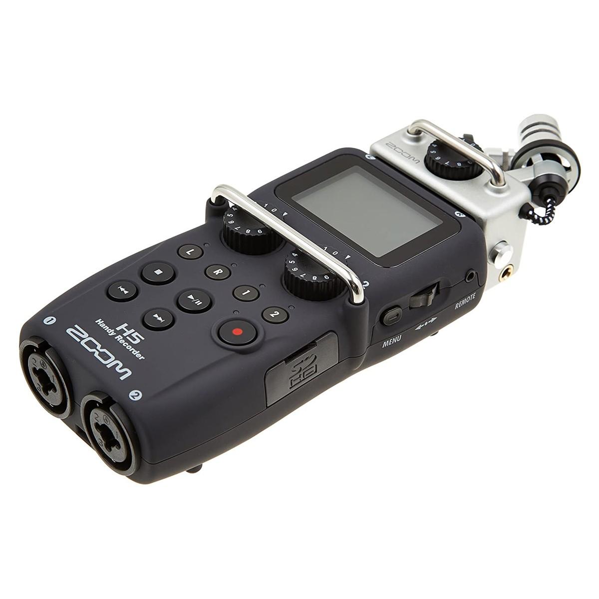 Gravador Digital 4 canais Microfone X/Y ZOOM H5