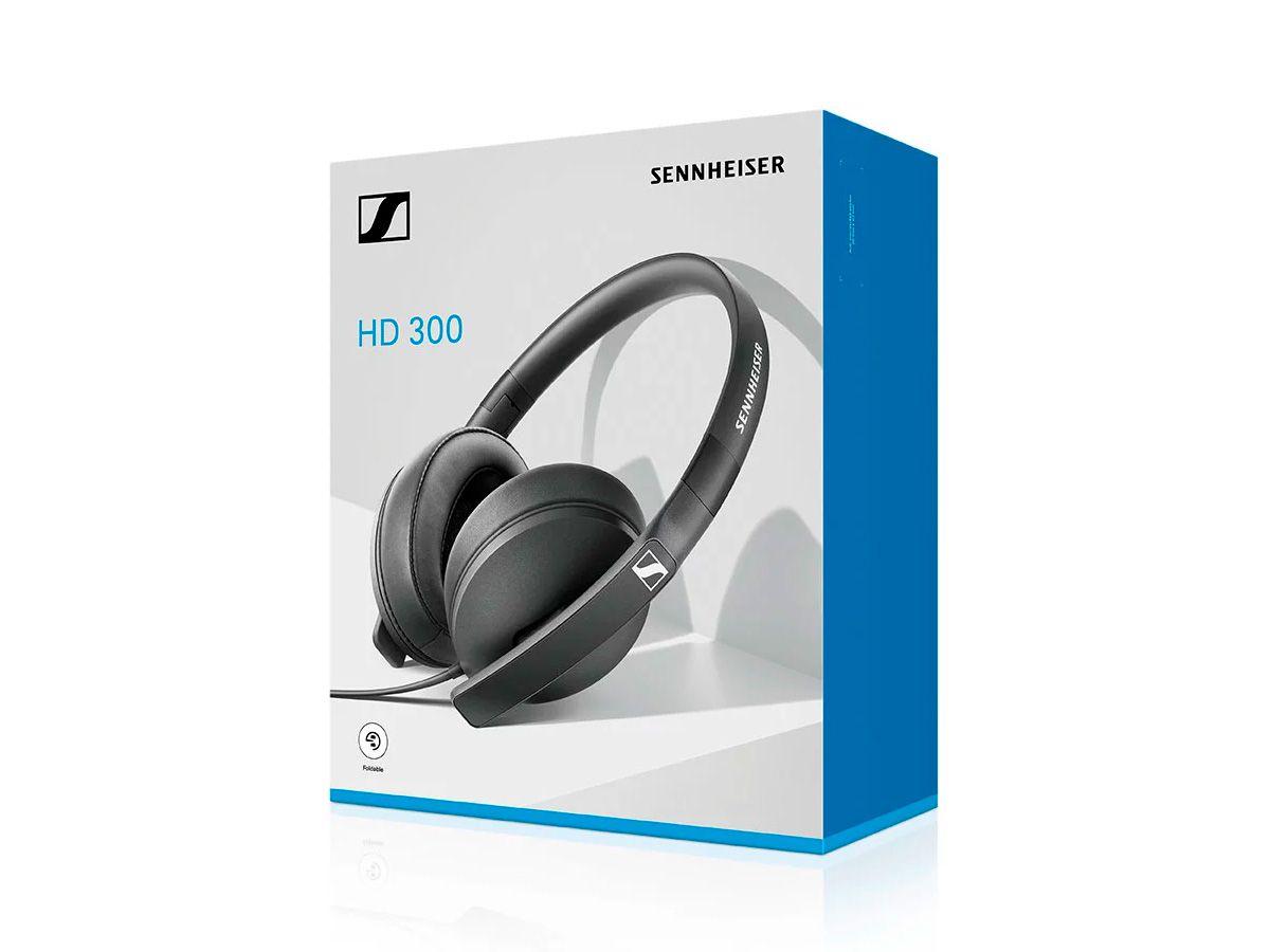 Headphone around-ear, fechado closed-back Sennheiser HD300