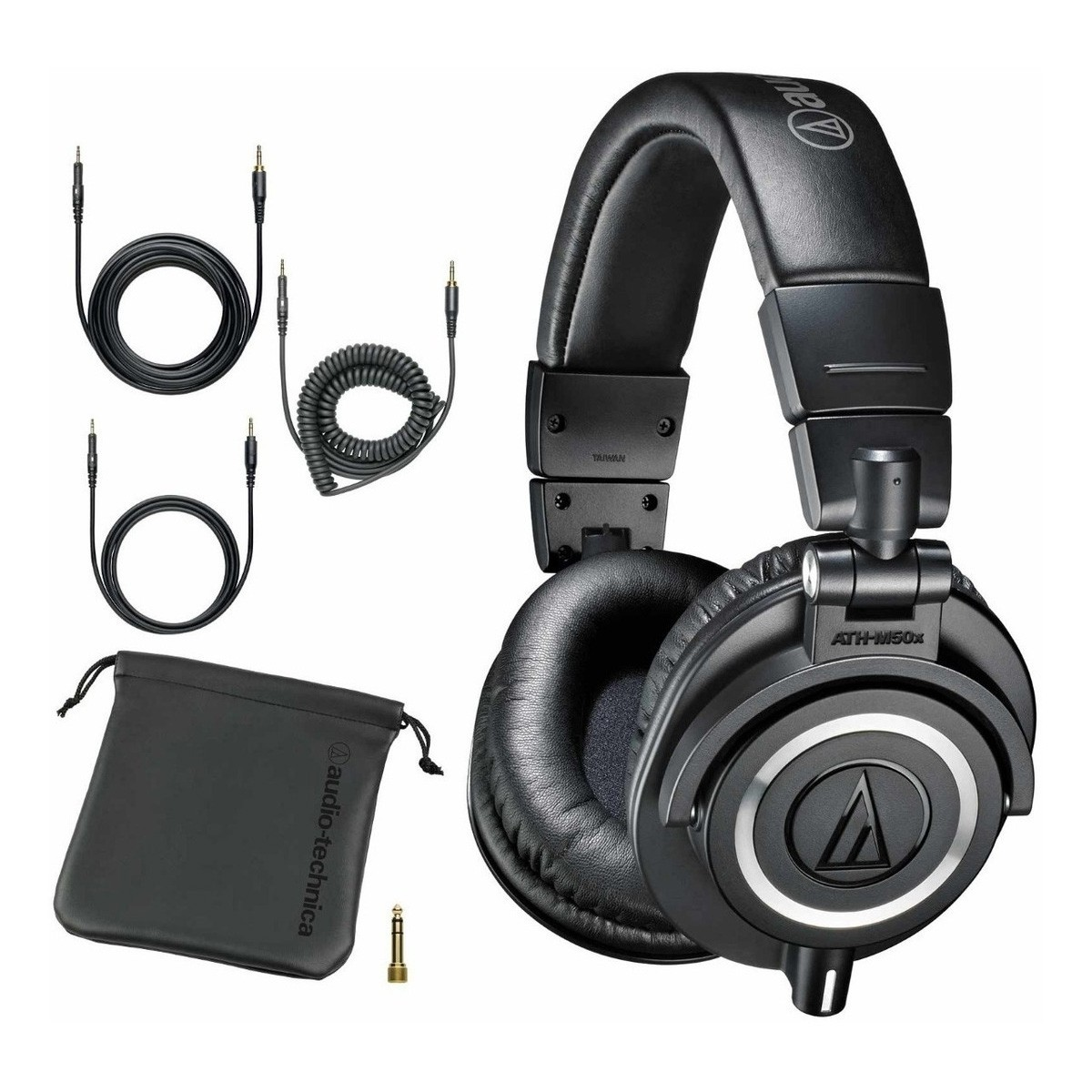 Fone de Ouvido Over-ear Fechado Audio-Technico ATH-M50X