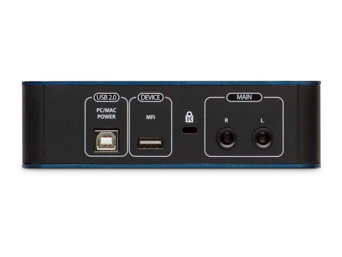 Interface de áudio USB 2.0 para gravação em Windows, Mac e Ipad | 1 pré-amplificador para mic e 1 entrada para instrumento | Presonus | AudioBox iOne