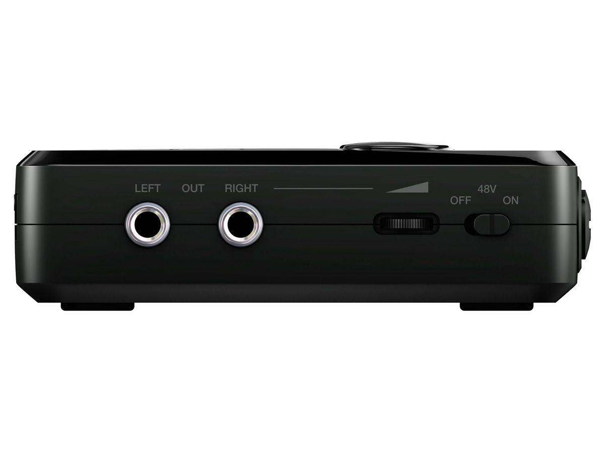 Interface de gravação para Smartphone ou Tablet com 2 canais de entrada, Conexão XLR, 48V e saída para fone de ouvido | IK Multimedia | Irig Pro Duo