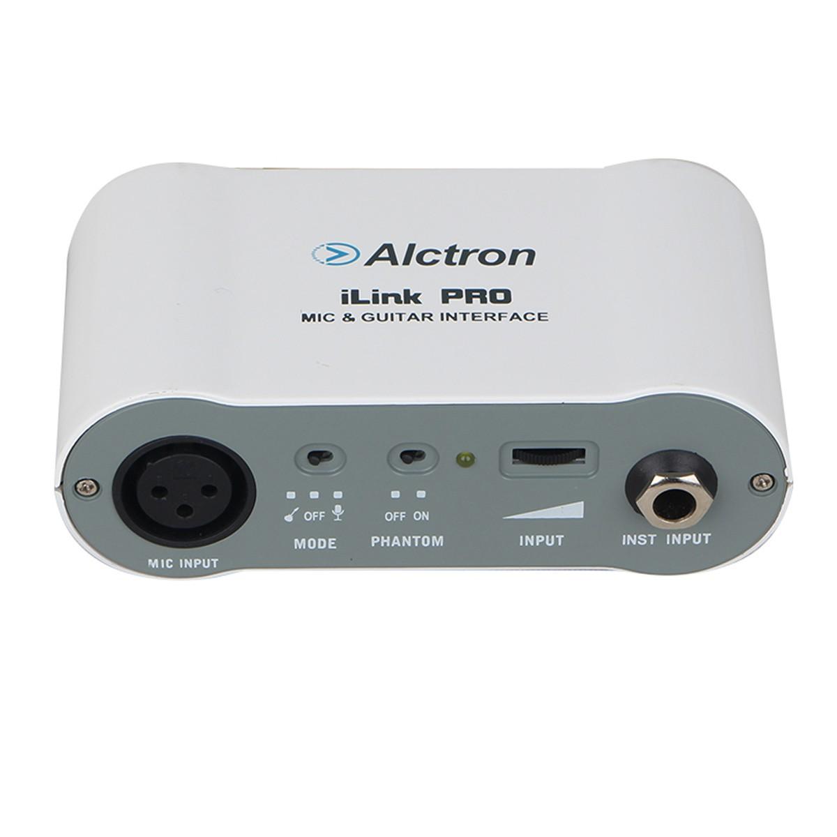 Interface Smartphone 1 Mic ou 1 Inst 48V Alctron iLinkPro
