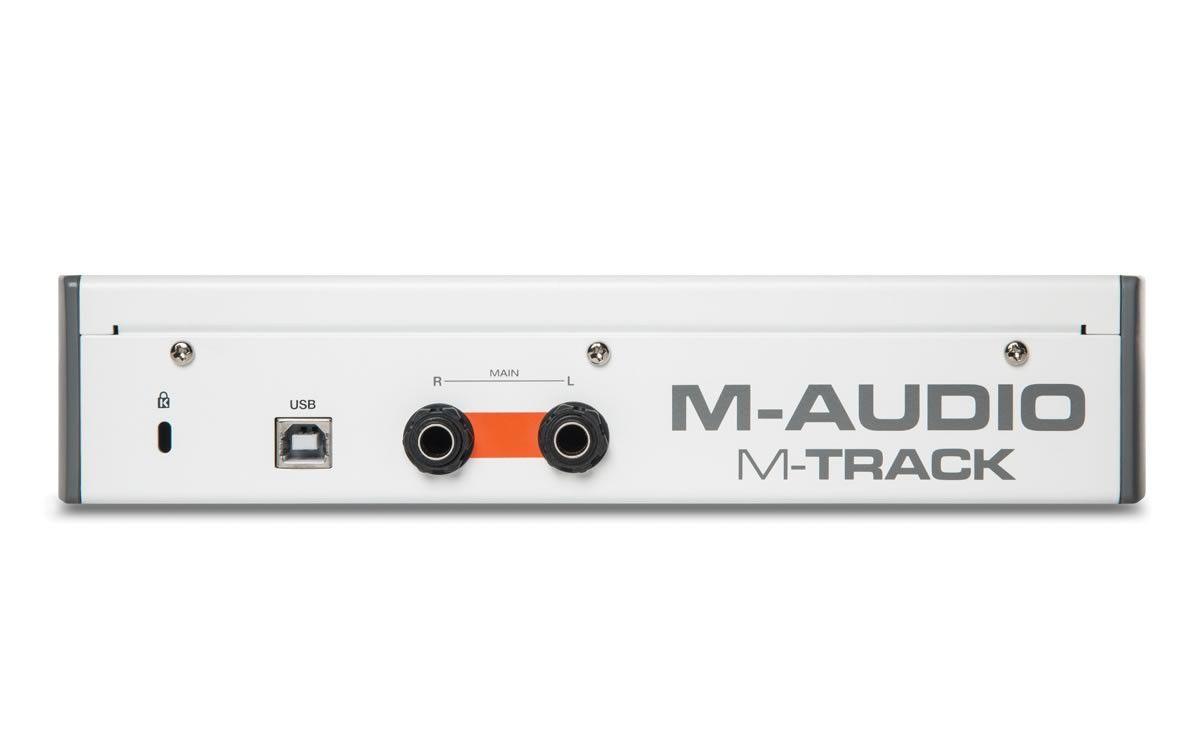Interface de Áudio USB M-AUDIO M-TRACKII 2X2 48 KHz