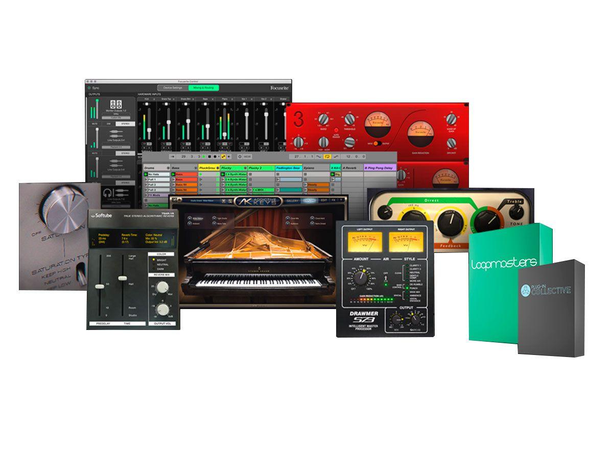Interface USB padrão Rack 19'' de 8 canais com pré-amplificadores, conexão MIDI, S/PDIF, Word Clock e Optical | Focusrite | Scarlett 18i20 3nd Geração