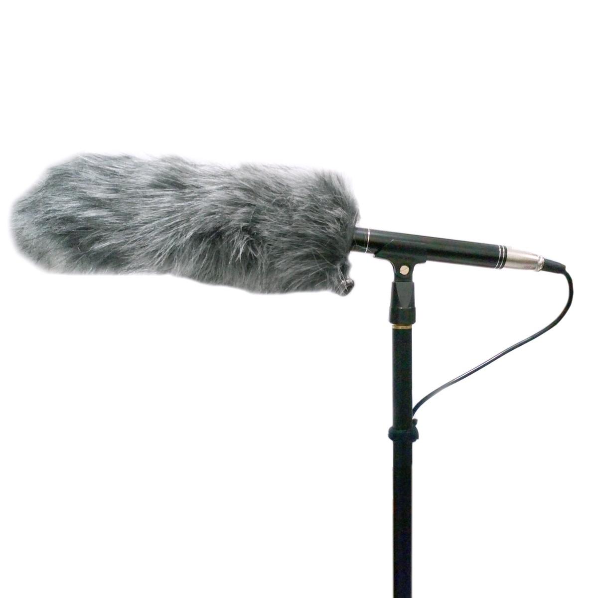 Kit Captação, Microfone, Vara Boom e Deadcat CSR On-stage