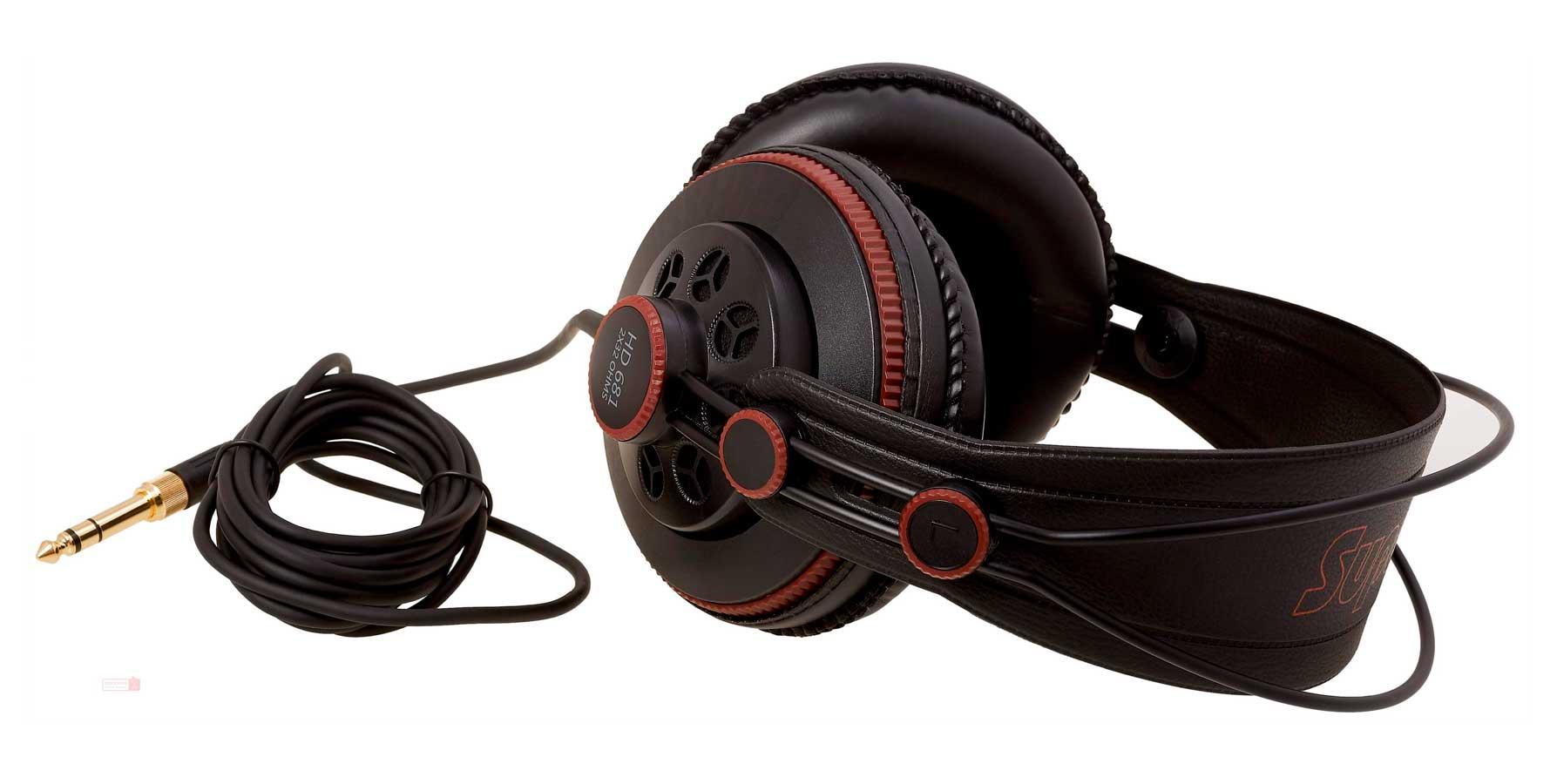 Kit com Microfone de lapela com cabo de 4 metros Yoga EM-1 + Fone profissional Superlux HD681 com cabo de 2 metros