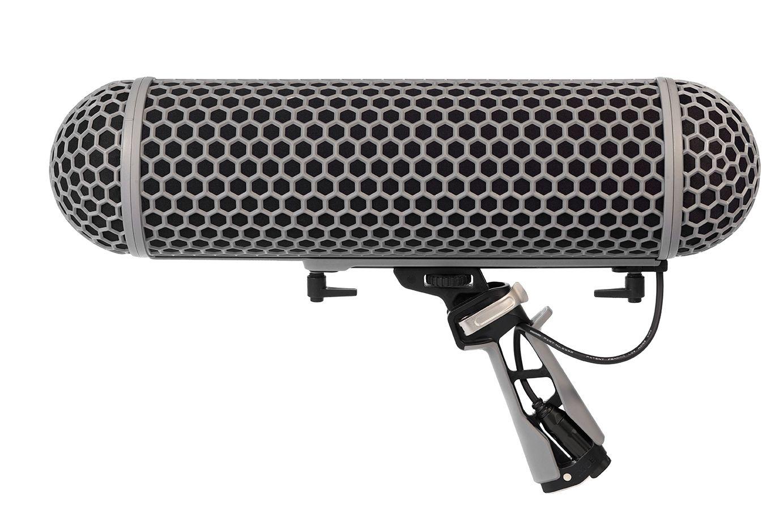 Kit de suporte para microfone shotgun de até 325 mm | Zeppelin, Cabo interno e Windshield | RODE | BLIMP
