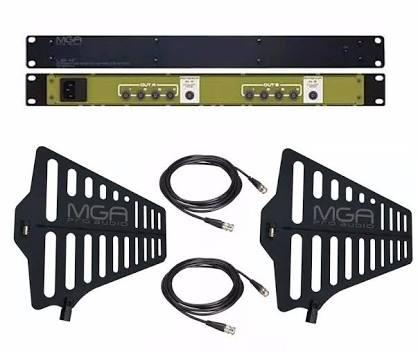Kit Mga Distribuidor Splitter Us4 2 In 8 Out + 2 Antena A1Kit Mga Distribuidor Splitter Us4 2 In 8 Out + 2 Antena A1