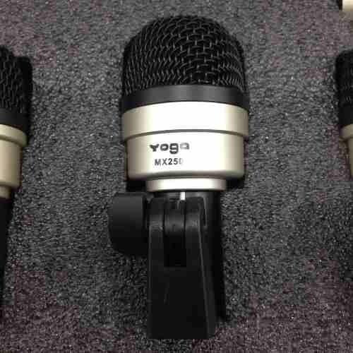 Kit Microfone Bateria com 7 Peças MXDS7 YOGA