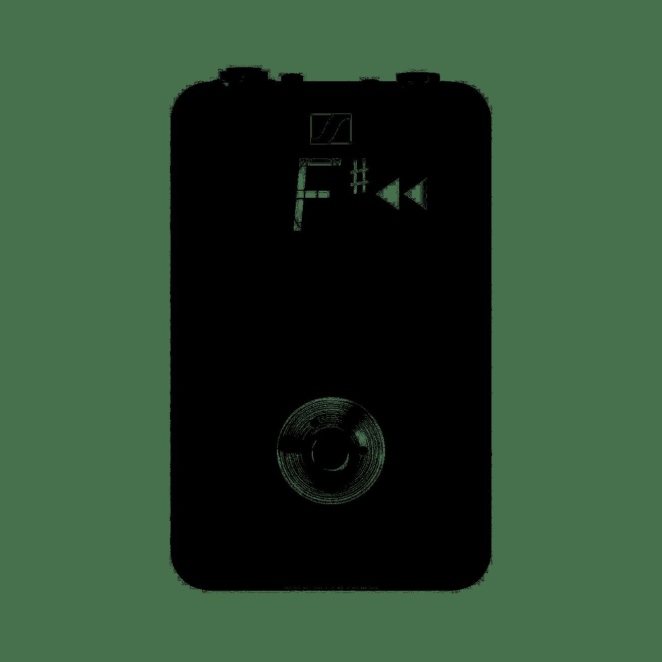 Kit Microfone sem Fio XSW-D Pedalboard SENNHEISER