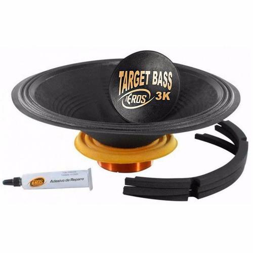 KIT Reparo E-18 Target Bass 3.0K 4 ohms EROS