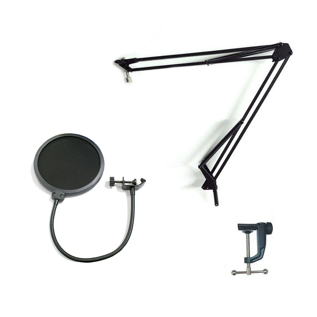 Kit Suporte articulado + Pop Filter MS15 SKSD0151 CSR
