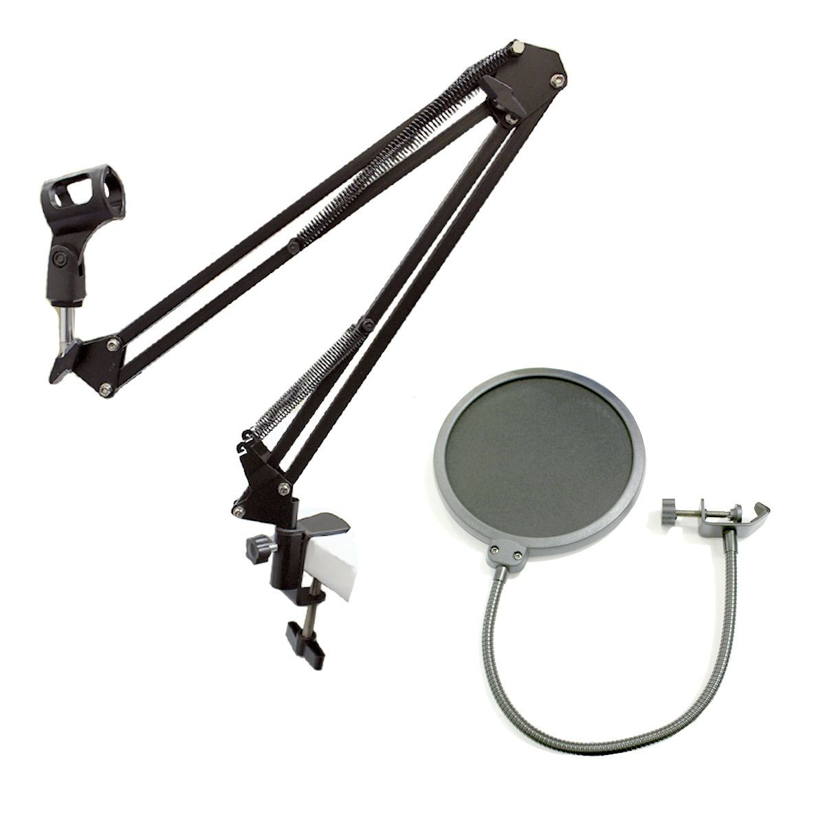 Kit Suporte articulado + Pop Filter NB35 MS15 JIAXI