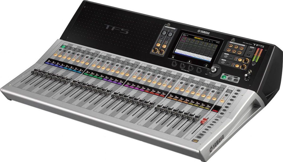 Mesa De Som Digital com 48 canais Yamaha TF5
