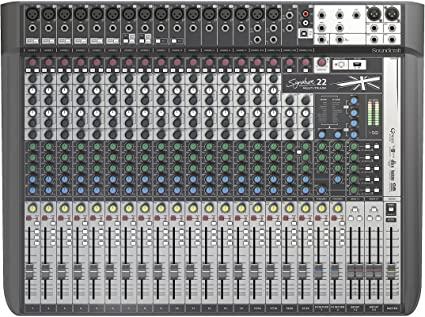 Mesa De Som Soundcraft Signature 22 Mtk