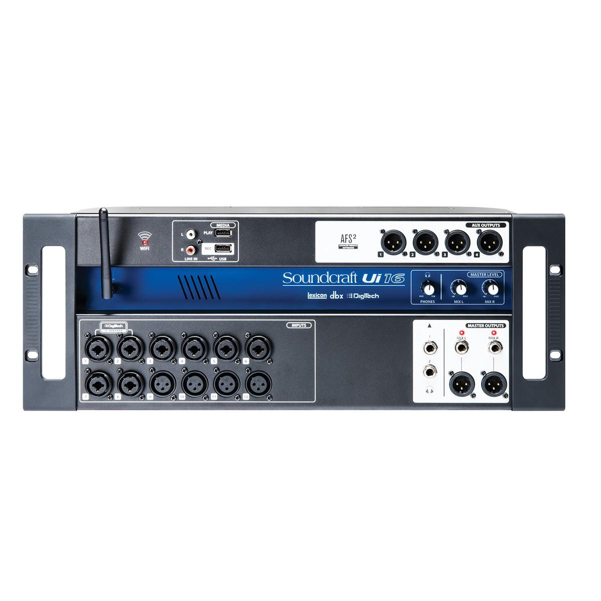 Mesa digita 16 in 4 out  Wifi USB Soundcraft UI16R