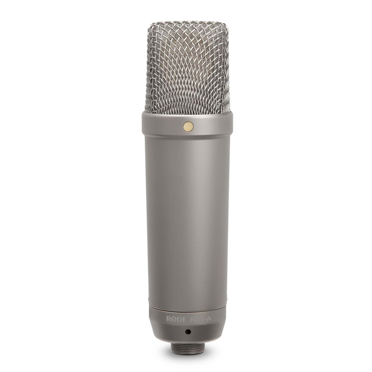 Microfone condensador cardióide para gravação RODE NT1-A