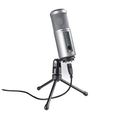 Microfone USB e saída para fone | Audio Technica | ATR2500-USB