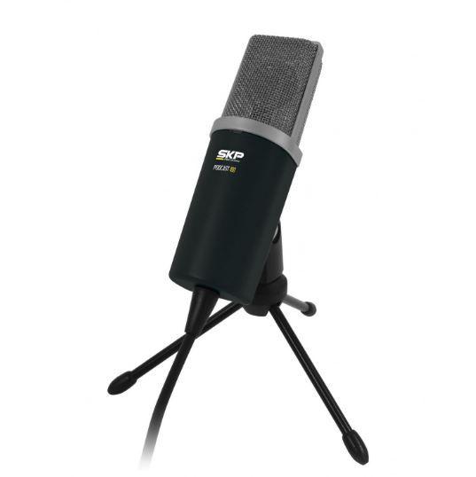 Microfone PC Podcast Youtube Streamer live SKP PODCAST100