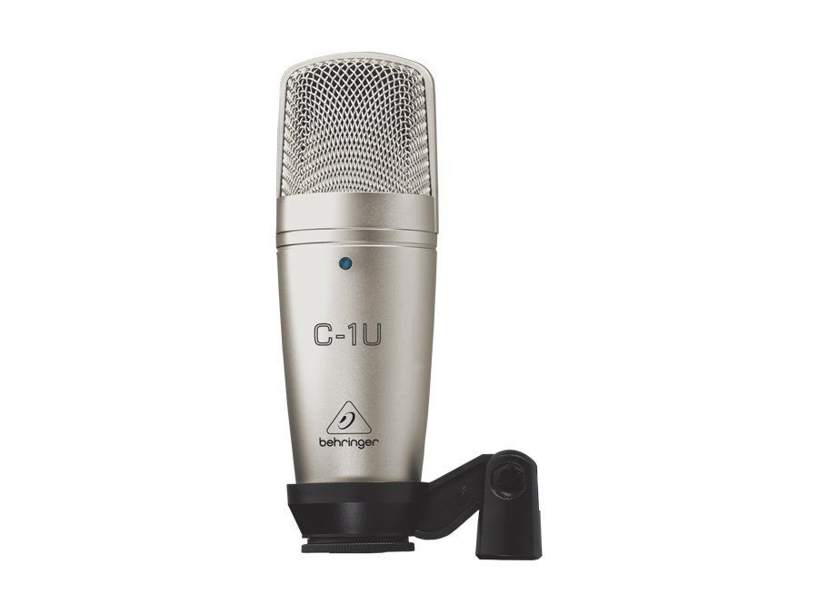 Microfone Condensador Cardioide com USB Behringer C1U