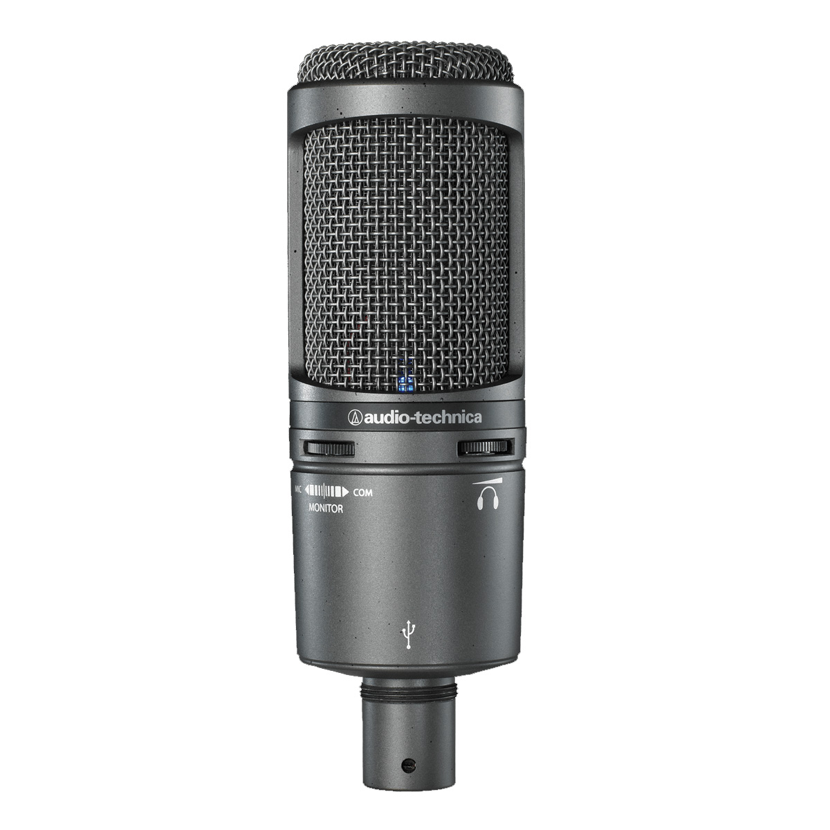 Microfone condensador USB Audio Technica AT2020USB+