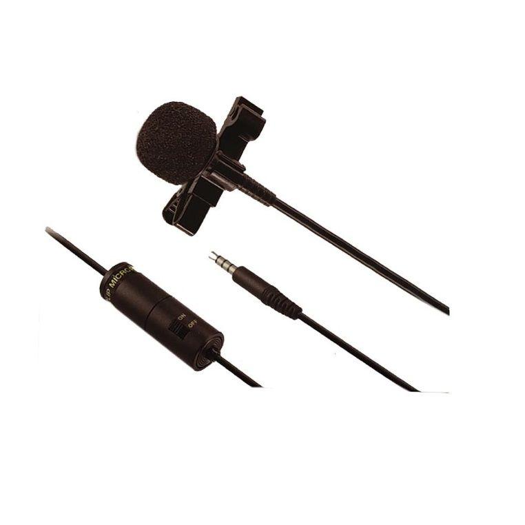 Microfone de lapela com fio para Smartphone Celular | Yoga | YTM-012