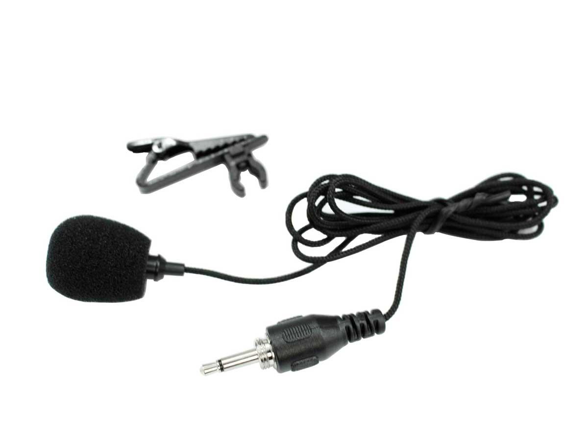 Microfone lapela p/ sistema sem fio P2 Mono TSI LP-CLI