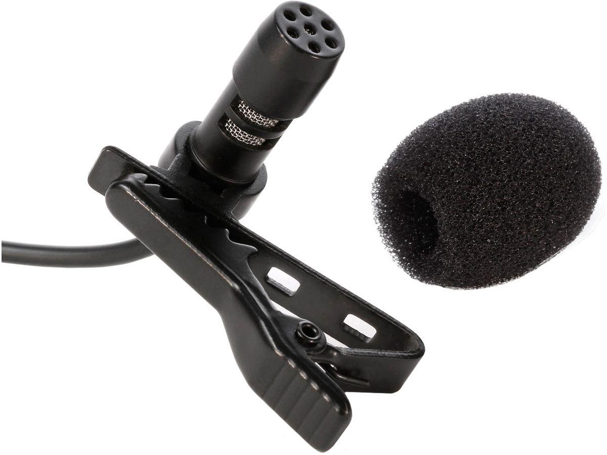 Microfone de lapela para Smartphone com saída para fone de ouvido   iRig Mic Lav   IK Multimedia