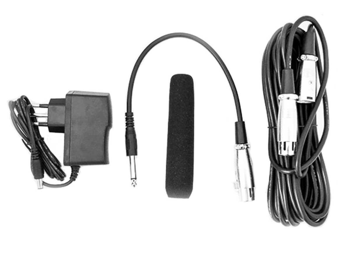 Microfone Gooseneck Super cardioide haste 60cm TSI MSF-460-W