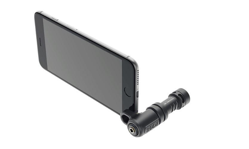 Microfone direcional para Iphone e Ipad de conexão P2 TRRS | Acompanha Protetor de vento | Rode | VideoMic Me
