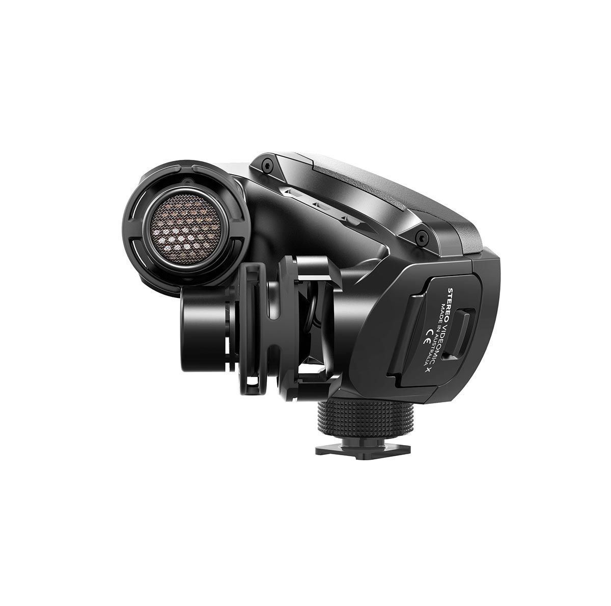 Microfone estéreo X Y p/ broadcast Rode Stereo VideoMic X