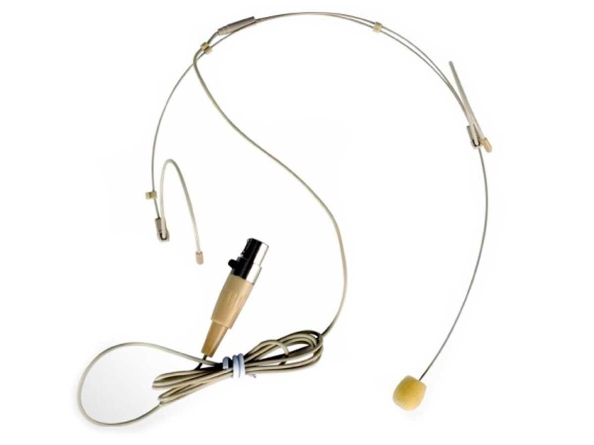 Mic headset p/ sistema sem fio MINI XLR 3P TSI HS-FINE-XLR