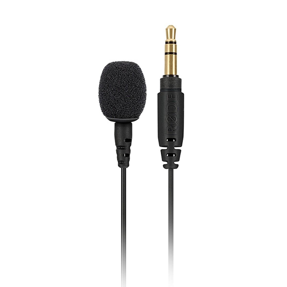 Microfone lapela omnidirecional cabo de 1,2m Rode LAVGO