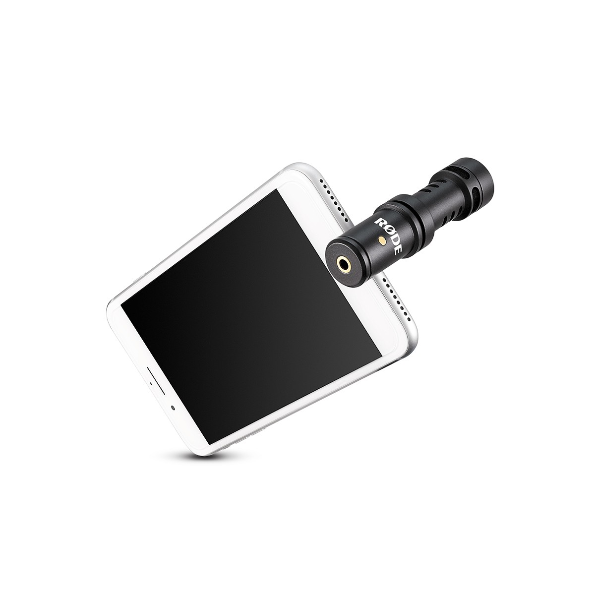 Microfone Mini Shotgun p/ Iphone, Ipad Rode Video Mic Me-L