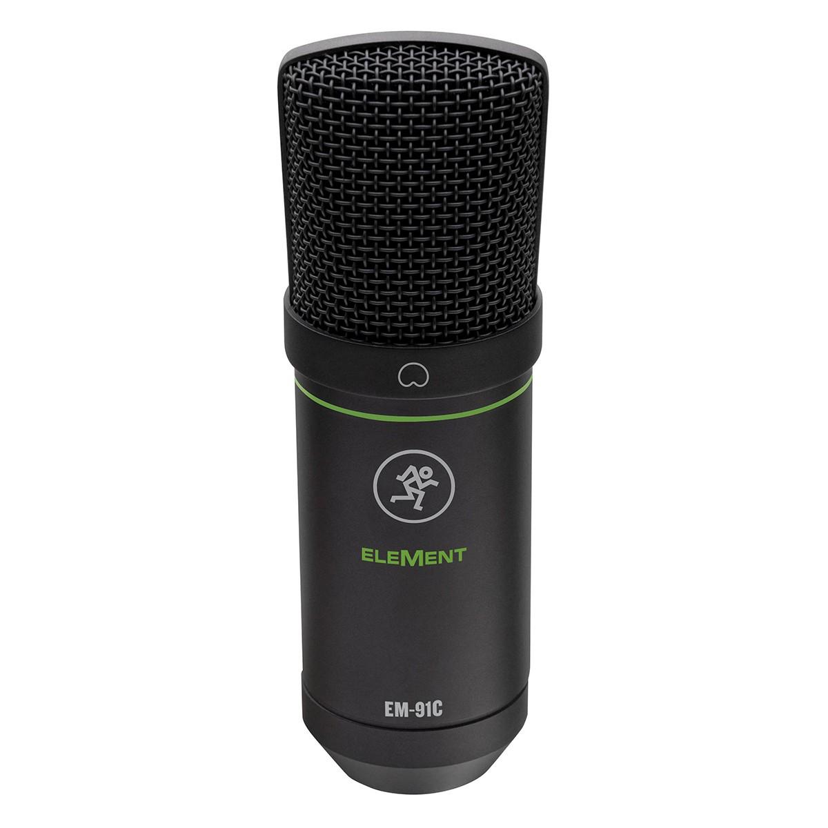 Microfone p/ gravação e performance ao vivo Mackie EM-91C